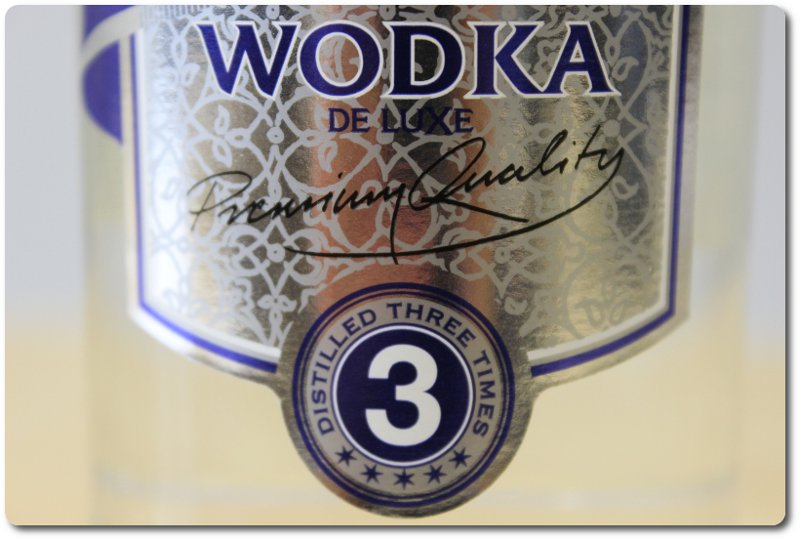 Wodka Zaranoff distilled three times