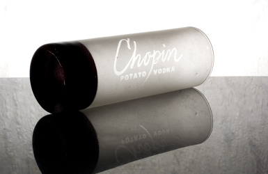 Chopin Vodka glass
