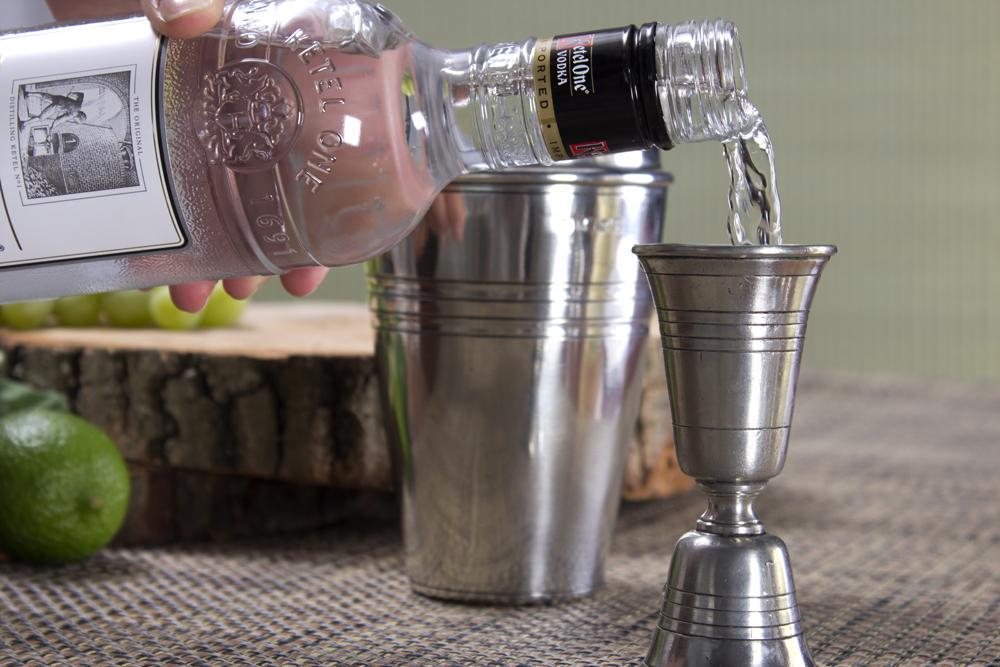 Vodka Bottle Pour
