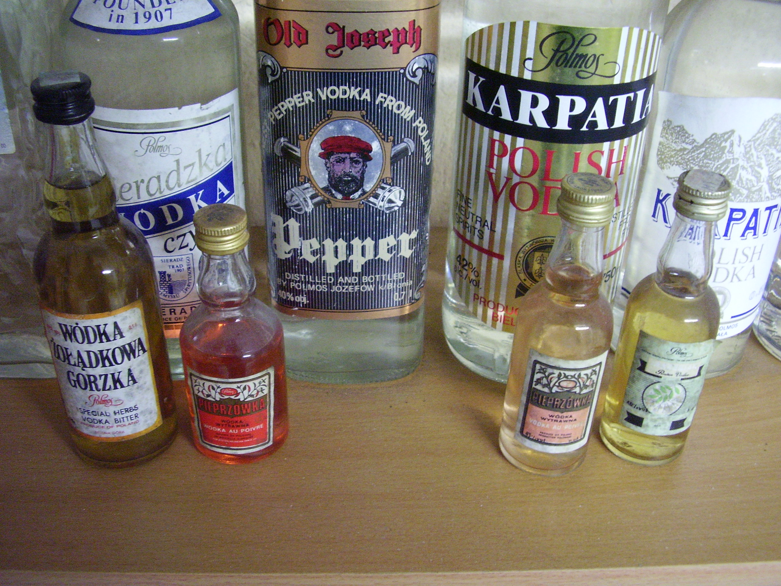 Mini Vodka Bottles